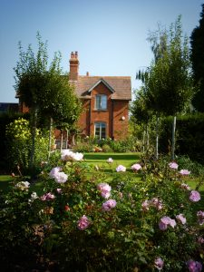 Walwyn Court garden