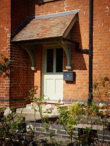 Walwyn Court front door