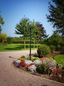 Walwyn Court gardens