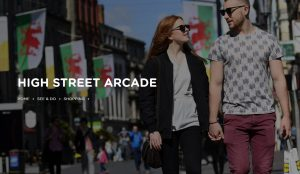 High Street Arcade Cardiff